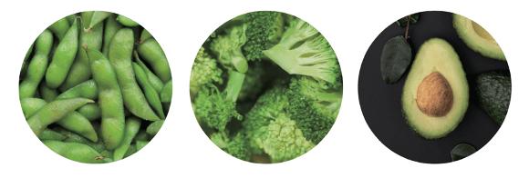 NMNはブロッコリーや枝豆・きゅうりなどに多く含まれています